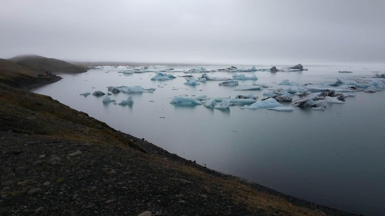 La laguna glaciale di Jökulsárlón