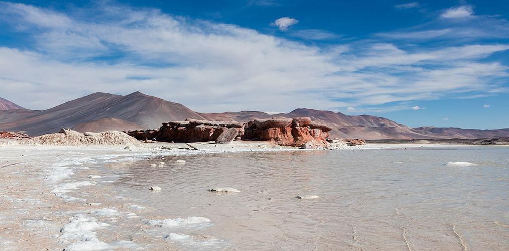 Piedras Rojas Salar de Aguas Calientes Antofagasta, Chile