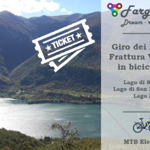 Ticket Giro dei Laghi e Frattura Vecchia in E-bike