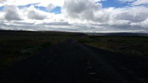 il sentiero che porta a Flúðir