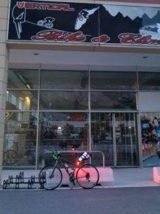 1° checkpoint al negozio di Pietramurata