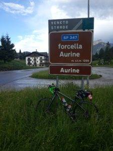 5° checkpoint - Forcella Aurine 1.299 mt