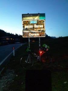 6° checkpoint - Passo Duran 1.601 mt