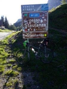 7° checkpoint - Passo Staulanza 1.773 mt