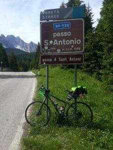 10° checkpoint - Passo S. Antonio 1.476 mt