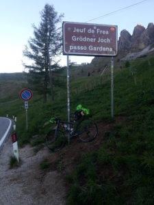13° checkpoint - Passo Gardena 2.121 mt
