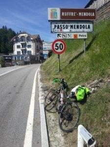 15° checkpoint - Passo Mendola 1.363 mt