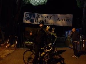 Il traguardo del Tuscany Road