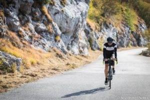 I primi km del Tuscany Road sulle Alpi Apuane