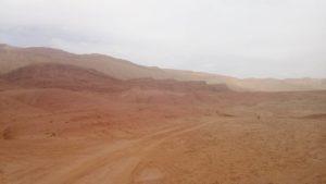 La pista che porta alla Valle del Dadès