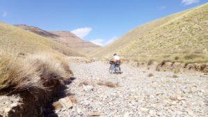La pista che collega la valle del Dadès a quella del Todra