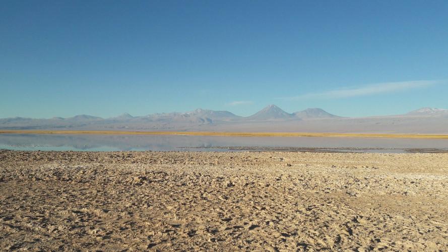 Laguna Tebinquinche Antofagasta, Chile